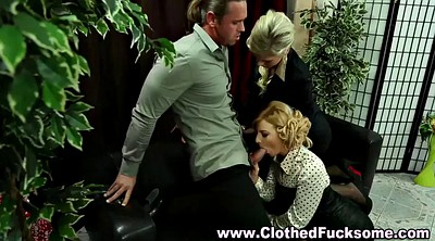 Office threesome, Sex video, Bbw vintage