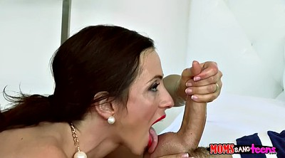 Brunette milf, Monster cock, Hells
