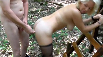 Forest, Stocking milf, German mature