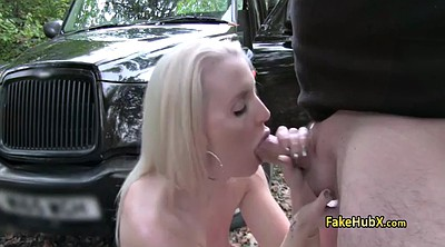 Amateur, Blond anal, Taxi anal