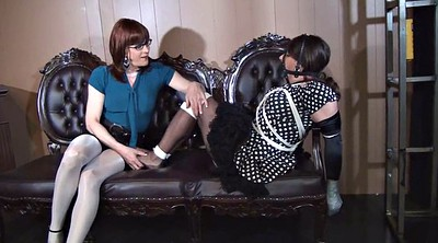 Crossdresser, Tied, Tickle, Tickled