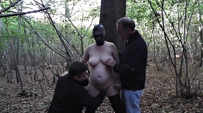 Slut wife, Wife outdoor, Mature gangbang, Forest