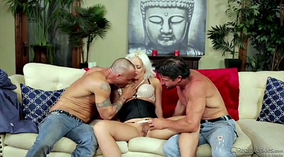 Wife threesome, Wife handjob, Friend, Wife friend, Friends wife, Blonde wife