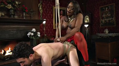 Punished, Bodybuilder, Mistress strapon, Mistress femdom