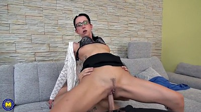 Mature, Old, Mother son, German mature, Mother&son, Mature seduces