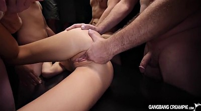 Beautiful, Gangbang creampie, Kacey
