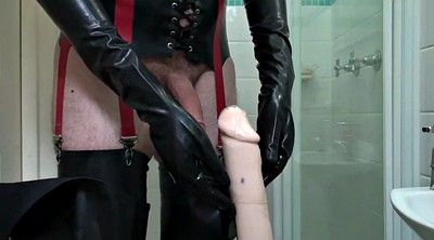 Rubber, Hose, Rubber masturbation, Large, Gay couple