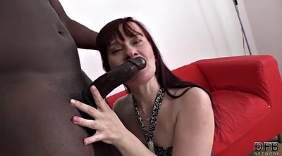 Mature interracial, Mature anal interracial