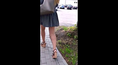 With a girl, Leg, Hidden cams