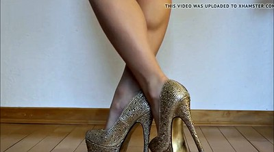 Jerk off, High heels, Collection