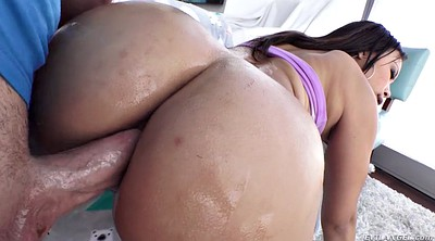 Oiled, Doggystyle anal, Oiled anal