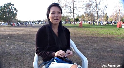 Asa akira, Akira, Ask, Asian outdoor, Asian masturbate
