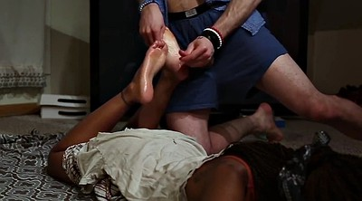Footjob, Feet, Ebony footjob, Black footjob