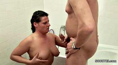 Mom and son, Step mom, Son fuck mom, Mom and son bathroom