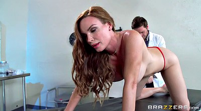 Matures with big tits, Office mature