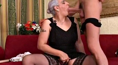 First, Old granny anal