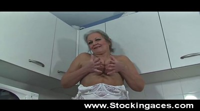 Kitchen, Granny solo, Spreading granny, Old granny solo, Mature spread