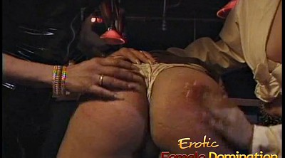 Bar, Hard spanking, Three some, Hard spank