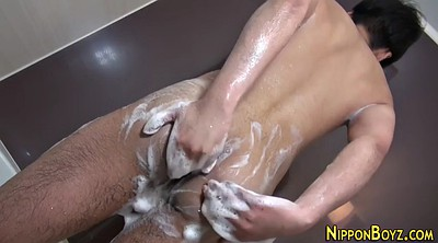 Shower, Asian twink