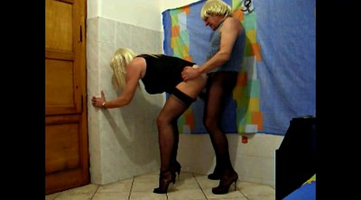 Crossdresser, Crossdress, Standing, Stand