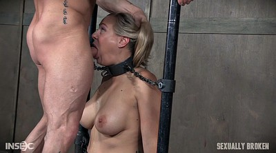 Lesbian strapon, Threesome, Inside, Gagging