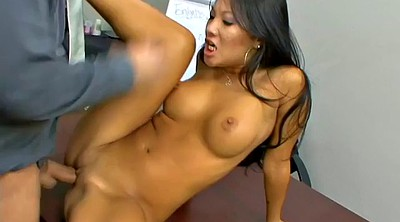 Asian foot, Asian boss, Lady, Foot massage, Asian massage