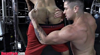 Muscled, Kissing fuck