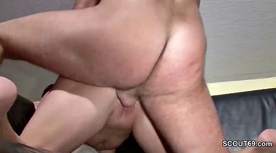 Young, Step mom, Step son, Son fuck mom, German mom, Mom seduce