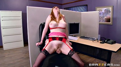 Big tits at work, Offices