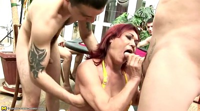 Piss, Granny piss, Granny boy, Young boy, Mature pissing, Mature boy