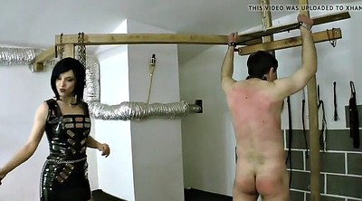 Whipping femdom, Latex bdsm, Femdom whipping, Young femdom, Male slave, Male