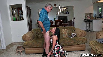 Old man, Granny blowjob