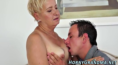 Spitting, Mature blowjob