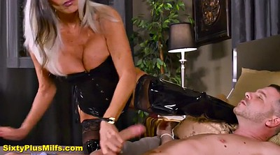 Mature anal, Latex bdsm