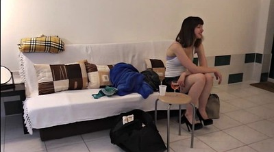 Czech casting, Teen pussy show, Behind the scene