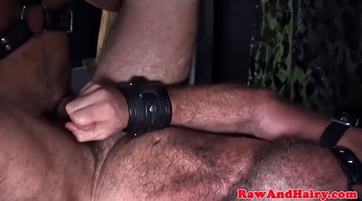 Leather, Mature gay, Gay rough, Silver, Chubby gay