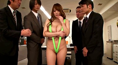 Japanese office, Busty japanese