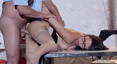 Upskirt, Office handjob, Security
