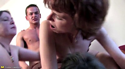 Boy, Old mom, Milf boy, Granny gangbang, Young mom, Mom gangbang
