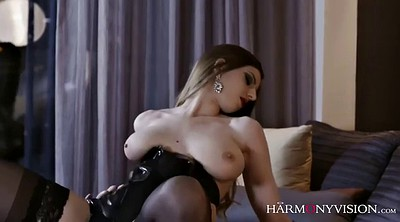 Chubby anal, Cox, Blindfolded, Latex lingerie, Latex fuck