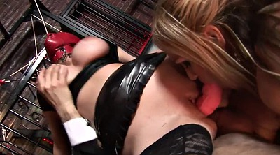 Latex bdsm, Foot anal, Double blowjob