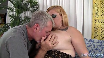 Sasha, Sasha blonde, Chubby blowjob