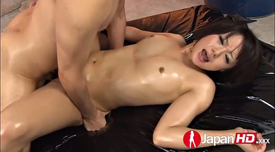 Japanese squirt, Japanese squirting, Squirting, Hairy creampie, Japanese oil, Japanese threesome