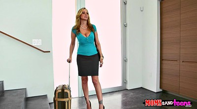 Julia ann, Alexa grace, Step, Anne, Step caught, Mom caught