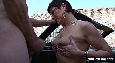 Old, German mature, Granny outdoor, Mature outdoor