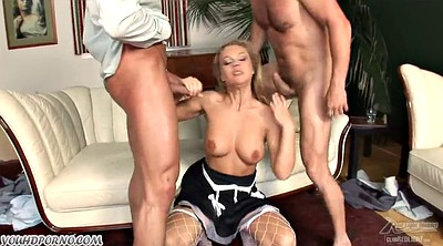 The maid, Double ass, Anal maid
