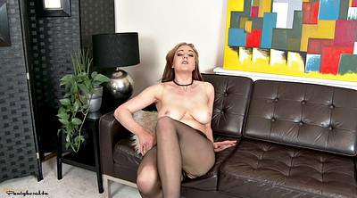Pantyhose tease, Insert, Ripped