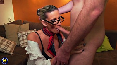 Granny anal, Old and young, Boys, Mature and boy