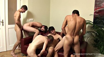 Gangbang, Party, Gay leather