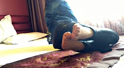 Nylon, Nylon feet, Asian foot, Nylon foot, Asian feet